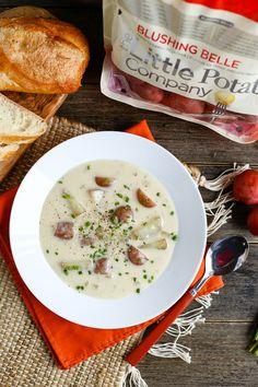 Vegan Cream of Potato Soup