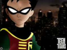 robin from teen titans Teen Titans Robin, Teen Titans Go, Villain Names, Original Teen Titans, Bbrae, Funny Songs, Beast Boy, Deathstroke, Great Tv Shows