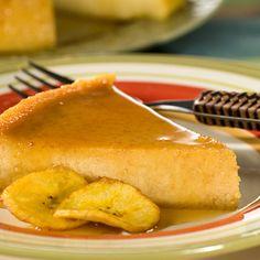 #Flan de Plátano – ¡Tus invitados definitivamente querrán guardar espacio para este delicioso #postre!