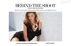Behind the photoshoot of Miranda Kerr