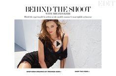 Behind the photoshoot of Miranda Kerr