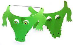 Printable Alligator Mask   crocodile mask alligator