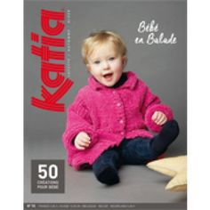 Katia book no 70 - baby, winter 2014 / 15 Catalogue Katia, Laine Katia, Knitting Patterns, Knit Crochet, Crochet Hats, Baby Coat, Crochet Magazine, Craft Shop, Livros