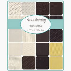Moda LAKESIDE GATHERINGS Fabric by Primitive Gatherings for Moda Fabrics
