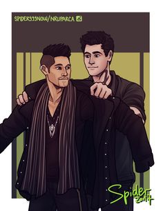 Coat by spider999now  ...  shadowhunters, alexander 'alec' lightwood, magnus bane, the mortal instruments, malec