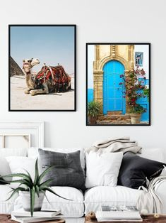Camel/Archway/Desert/Arch/Architecture/Moroccan Wall/Door/Arabic Door/Africa/East/Art Boho/Marrakesh/Blue Door/Flowers As You Like, Just In Case, Vintage Images, Retro Vintage, Frame Download, Arch Architecture, International Paper Sizes, Etsy App, Marrakesh
