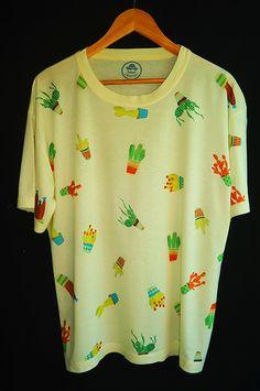 Camisa Masculina Cactos