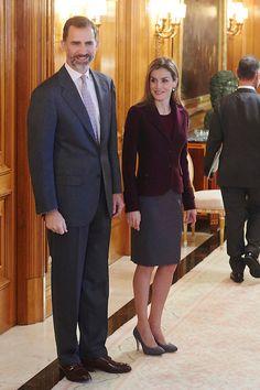 Sus Majestades el Rey Felipe VI y la Reina Letizia presidieron por vez primera la reunión del Patronato del Teatro Real. 2/3/2015