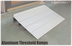 Home Wheelchair Ramps - Modular aluminum threshold ramps available in 7 sizes