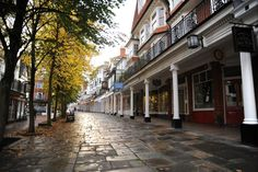 Royal Tunbridge Wells - The Pantiles  My sister was married in this beautiful town.