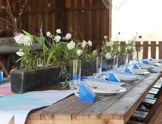 Geometric Barn Dinner Party - Inspired by This Lifestyle Blog
