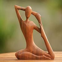 Yoga Stretch from @NOVICA, They help #artisans succeed worldwide.