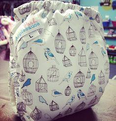 Cute cloth diaper by Pish Posh Applesauce