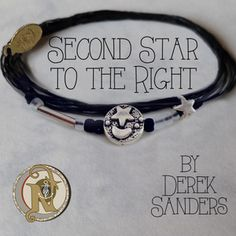Derek Sanders #NTIO Second Star to the Right bracelet....I want this because I love him