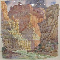 Denver Art Museum Watercolor River