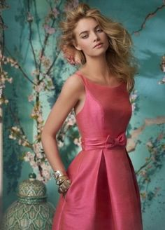 Alvina Valenta Bridesmaids and Special Occasion Dresses Style by JLM Couture, Inc. Couture Bridesmaid Dresses, Knee Length Bridesmaid Dresses, Wedding Party Dresses, Coral Bridesmaids, Bridesmaid Ideas, Oscar Dresses, Evening Dresses, Dresses 2016, Alvina Valenta