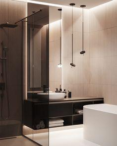 Bathroom decor, Bathroom decoration, Bathroom DIY and Crafts, Bathroom Interior design Shabby Chic Interiors, Contemporary Apartment, Modern Apartment Design, Modern Design, Chic Bathrooms, Luxury Bathrooms, Small Bathrooms, Dream Bathrooms, Marble Bathrooms
