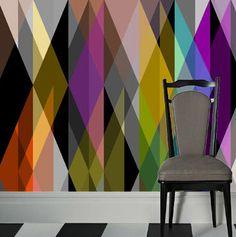 geometric wallpaper GEOMETRIC: CIRCUS Cole