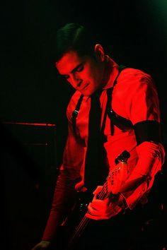 Carlos D on bass :Interpol