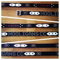 Custom western belts !!! #westernbelts #rockabilly #leathercraft