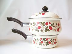 strawberries cookware