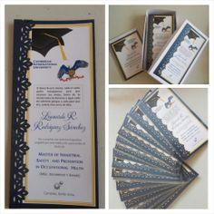 Tarjetas, recuerdo de graduación