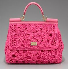 Tejidos en Crochet y Afines desde La Plata: Dolce  Gabbana: encanto italiano en crochet!!!