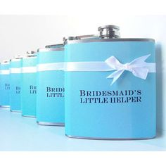 Too great…. Bridesmaids Gifts, Maid of Honor Gift, Wedding Party Flask, Bachelorette Party Gift, Bridal Shower Gift, Tiffany Blue