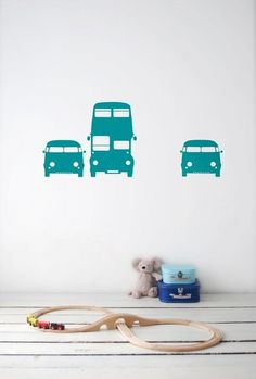 FERM  LIVING -  Wallstickers Rush Hour