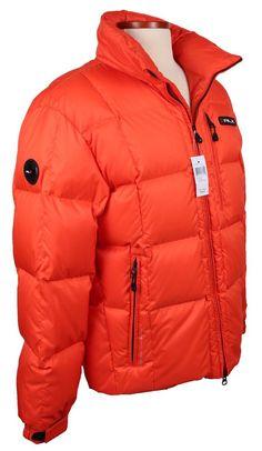 NEW RLX Polo Ralph Lauren Mens Puffer Jacket Size M L Down Hooded Ski Coat NWT #RLXRalphLauren #Puffer