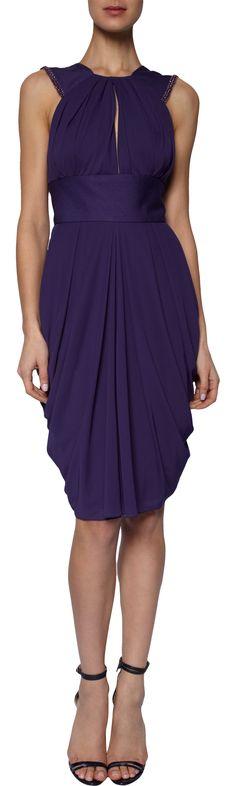 J. Mendel Beaded Halter Dress at Barneys.com