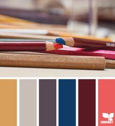 { penciled palette } ➸   Design Seeds
