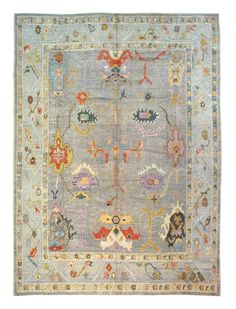 Apr 2019 - x Hand-knotted Turkish Oushak Rug Landry & Arcari Rugs and Carpeting Kilim Rugs, Oushak Rugs, Entryway Rug, Textiles, Rug Sale, Traditional Rugs, Grey Rugs, Decoration, Rugs On Carpet