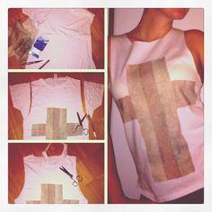Selfmade Shirt..