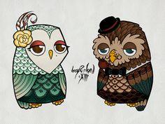 'The Owls' by Boy Roland