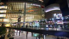 大阪梅田 グランフロント大阪の夜景 うめきた Night View of GRAND FRONT OSAKA Umeda Japan