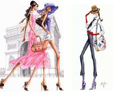 Fashion illustrations: Arturo elena