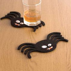 Monster Bash Coaster Set Of 8 now featured on Fab. Coaster Set, Tech Accessories, Halloween Party, Diy Crafts, Spider, Party Ideas, Inspiration, Design, Biblical Inspiration