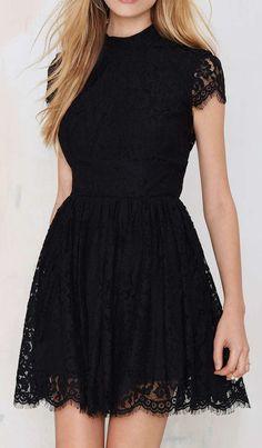 Keepsake Eclipse Lace Dress - Black