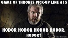 #GameofThrones Pick-up Lines! (Click through for lots more ;-)