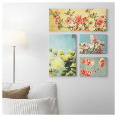 GRONBY картини, Слънчева сладост, 4 бр - IKEA