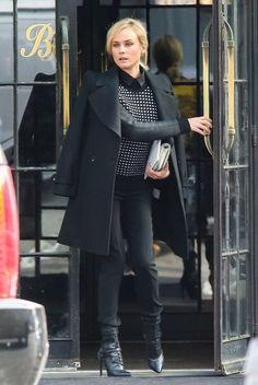 Diane Kruger - Diane Kruger Leaves Her NYC Hotel