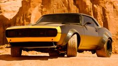 1967 Chevy Camaro SS (Bumblebee) from the upcoming Transformers 4, currently filming in Monument Valley, Utah