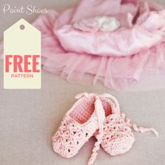 Free pattern - Point ballet  baby Shoes