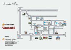 Prabhavathi Vasanti Location www.bangalore5.com