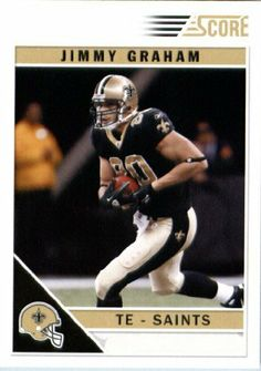2011 Score Football Card #180 Jimmy Graham - New Orleans Saints - NFL Trading Card by Score. $1.89. 2011 Score Football Card #180 Jimmy Graham - New Orleans Saints - NFL Trading Card