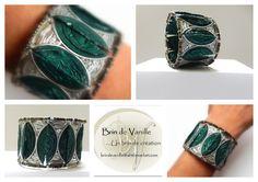 BRACELET CAPSULES NESPRESSO INSPIRATION AZTEC - VERT D'EAU : Bracelet par brindevanille
