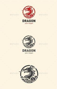 ◵ [GET]◊ Dragon Animal Animals Brut Business Business Logo China Circle Logo Design, Circle Logos, Badge Design, Graphic Design, Dragon Tattoo Drawing, Small Dragon Tattoos, Logo Branding, Branding Design, Logo Dragon