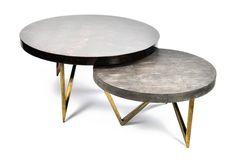 Tb coffee table ginger brown treniq 2