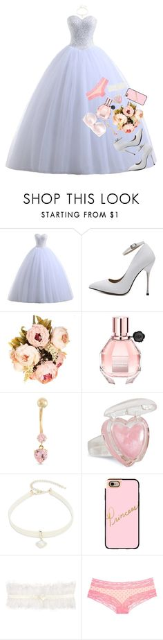 """""""the wedding"""" by pastelprincesslol ❤ liked on Polyvore featuring Viktor & Rolf, Design Lab, Casetify, Somerset by Alice Temperley, Victoria's Secret, STELLA McCARTNEY and pasteleah"""